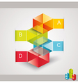 Modern design template isometric style vector
