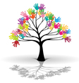 Kids tree vector