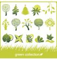 Icon trees vector