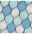 Seamless abstract hand drawn waves pattern vector