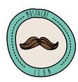 Mustache design vector