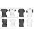 Polo shirts vector