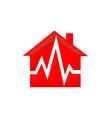 Home medical care logo vector