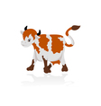Abstract cow vector