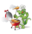 Bbq chef vector