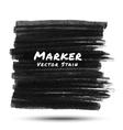 Black marker stain vector