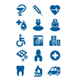General medical icons vector
