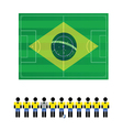 World cup sign color vector