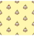 Seamless owl pattern vector