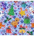 Christmas holiday seamless pattern vector
