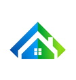 Home realty abstract logo vector
