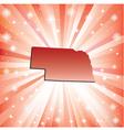 Red nebraska vector