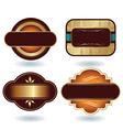 Chocolate logo template vector