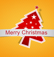 Christmas background label vector