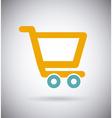 Cart shopping design vector