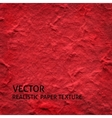Red textured paper background vector