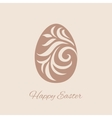 Happy easter cards with easter eggs vector