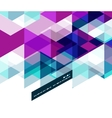 Modern geometrical abstract template vector