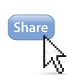 Share button click vector