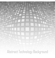 Abstract gray - white technology background vector