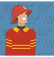Fireman occupation vector