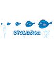 Fish evolution vector