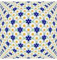 Design colorful flower decorative pattern vector