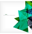 Abstract sharp angles background vector