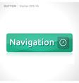 Navigation button template vector
