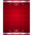 Red antique background vector