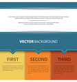 Design template back vector