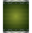 Green antique background vector