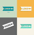 Clothespin clothes logo design pattern for sewing vector