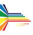 Coloured line strip background vector