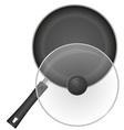 Frying pan 02 vector