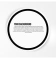 Abstract circles template web design vector