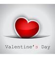 Elegant valentines day background vector