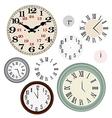 Clock vintage vector