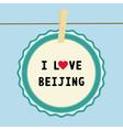I love beijing2 vector
