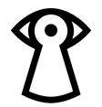 Spy sign vector