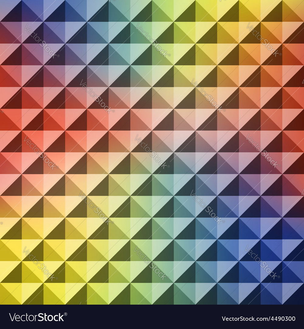 Abstract geometric background mosaic vector | Price: 1 Credit (USD $1)