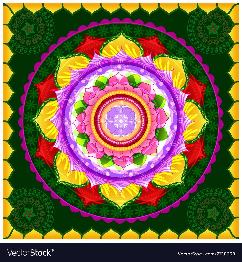 Beautiful mandala design vector | Price: 1 Credit (USD $1)