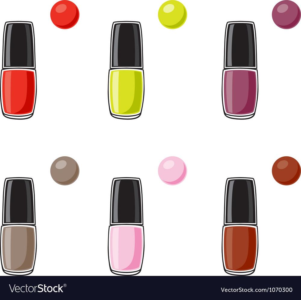 Nail polish vector   Price: 1 Credit (USD $1)