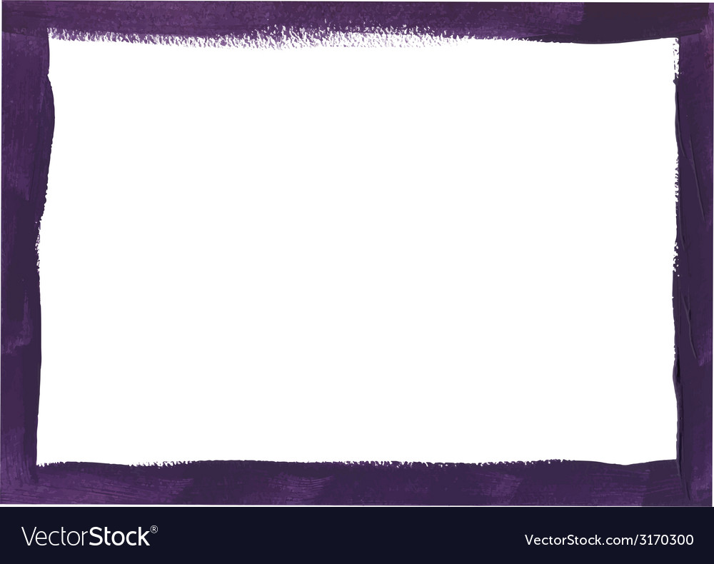 Violet grunge frame vector | Price: 1 Credit (USD $1)