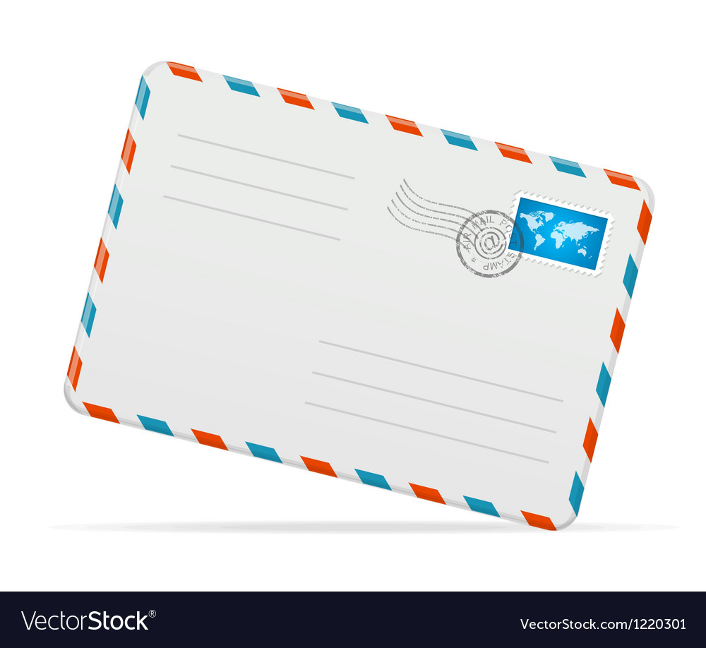 Detailed envelope vector | Price: 3 Credit (USD $3)