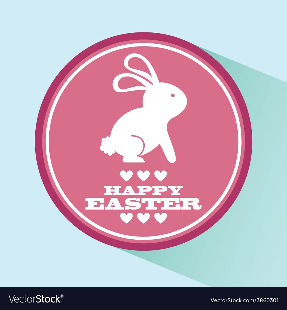 Happy easter vector | Price: 1 Credit (USD $1)