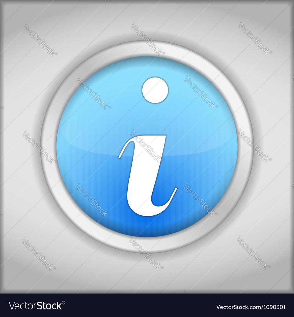 Information icon vector   Price: 1 Credit (USD $1)