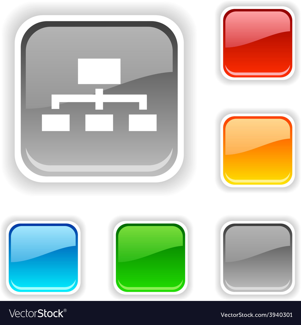 Network button vector   Price: 1 Credit (USD $1)