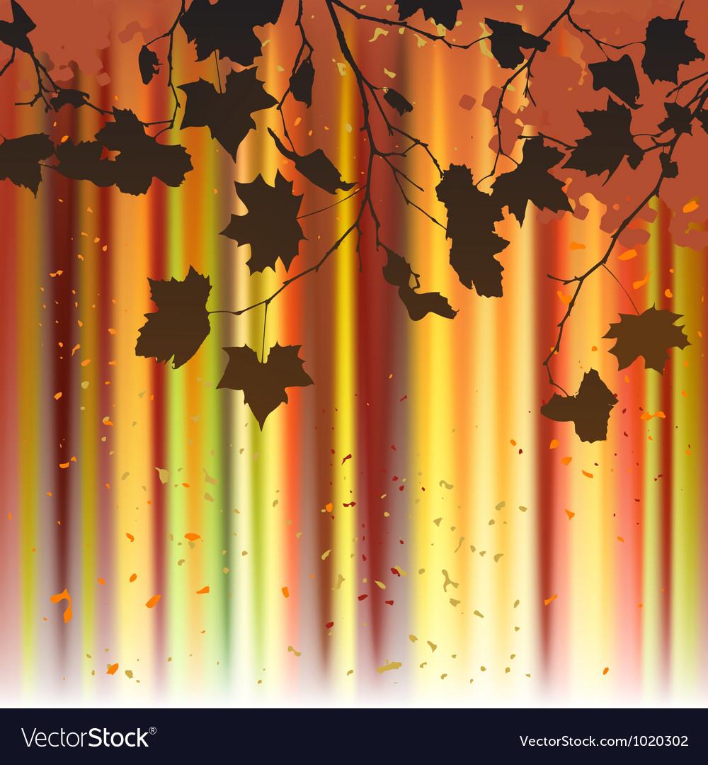 Leaf autumn - background vector | Price: 1 Credit (USD $1)