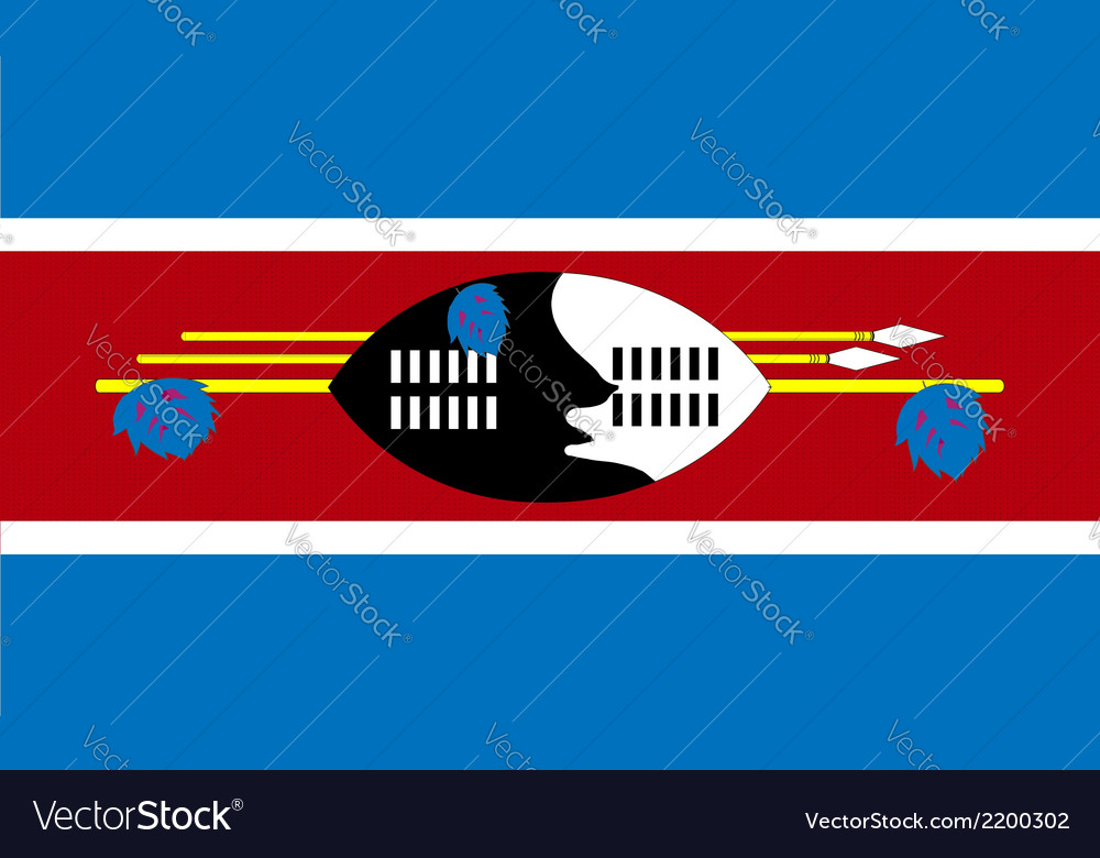 Swaziland vector | Price: 1 Credit (USD $1)